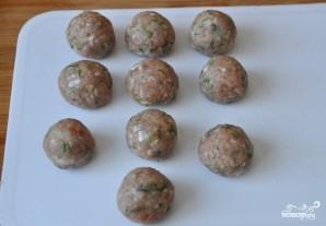 Картофельные гнезда с фаршем - фото шаг 3