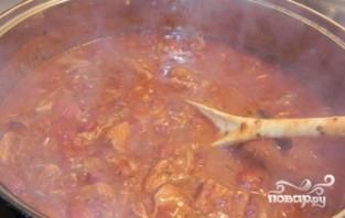 Поджарка из свинины на сковороде - фото шаг 5