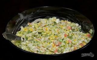 Крабовый салат - фото шаг 6