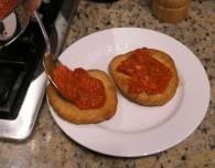Pizzelle Fritte, жаренная пицца - фото шаг 6
