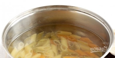 Макароны с соусом - фото шаг 3