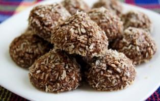 Шоколадно-кокосовое печенье - фото шаг 4