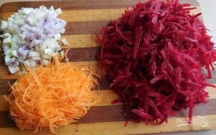 Борщ с фасолью и мясом - фото шаг 2