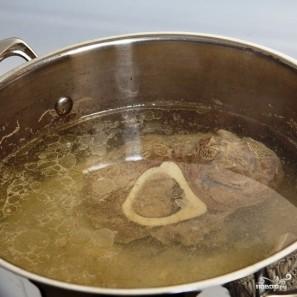 Томатный суп с рисом - фото шаг 3