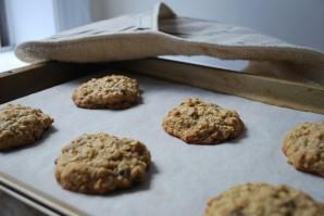 Овсяное печенье с кусочками шоколада - фото шаг 6