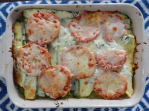 Лазанья с кабачками и помидорами - фото шаг 6