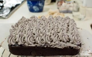 Шоколадный торт с печеньем - фото шаг 14