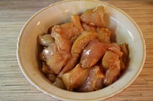 Омлет с куриным филе - фото шаг 3