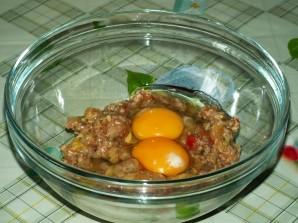Кабачки с фаршем и помидорами - фото шаг 3