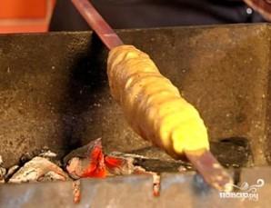 Люля-кебаб из картофеля - фото шаг 4