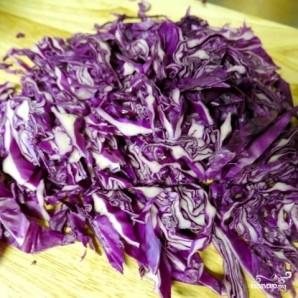 Соте из красной капусты - фото шаг 3