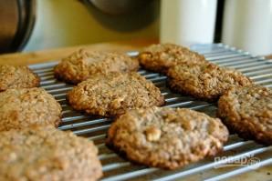 Хрустящие печенья из овсяных хлопьев и фундука - фото шаг 8