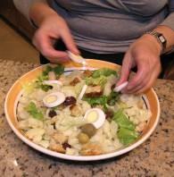 Салат из цветной капусты - фото шаг 7