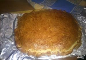 Закрытая пицца с брокколи - фото шаг 3