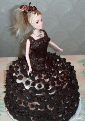 """Торт """"Барби"""" - фото шаг 10"""
