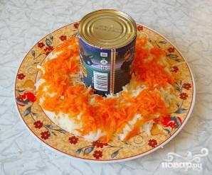 """Новогодний салат """"Нефритовый браслет"""" - фото шаг 4"""