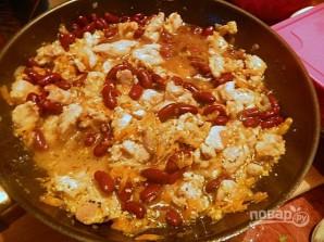 Курица с фасолью ПП - фото шаг 8