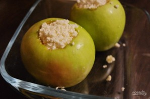 Диетический десерт из творога и яблок - фото шаг 3