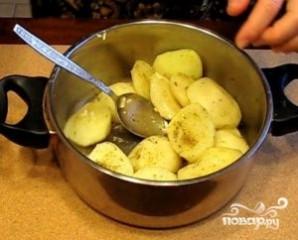 Картофель в рукаве для запекания - фото шаг 5