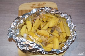 Овощи под соевым соусом - фото шаг 5