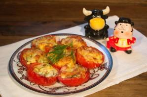 Помидоры с сыром в духовке - фото шаг 8