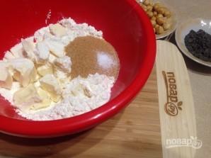 Песочное печенье с фундуком и шоколадом - фото шаг 2