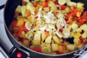 Жаркое из индейки на сковороде - фото шаг 8