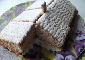 """Торт """"Минутка"""" из печенья - фото шаг 11"""