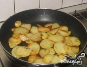 Картофель по-лионски - фото шаг 3