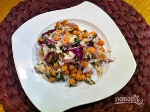 Салат с треской - фото шаг 7