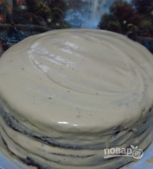 Большой торт - фото шаг 11