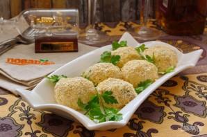 Сырно-сливочные шарики с тунцом и укропом - фото шаг 7