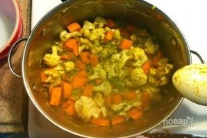 Суп из цветной капусты с рисом - фото шаг 4