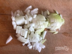 Луково-яблочный соус - фото шаг 2