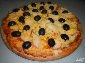 Пицца на картофельной основе - фото шаг 5