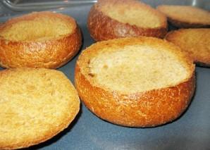 Чешский суп в хлебе - фото шаг 6