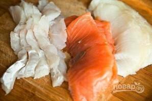 Простая рыбная солянка - фото шаг 1