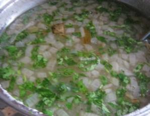 Постный суп с грибами   - фото шаг 7