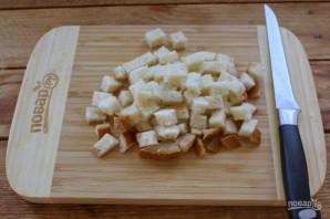 Чудесная закуска из жареного хлеба и яйца - фото шаг 1