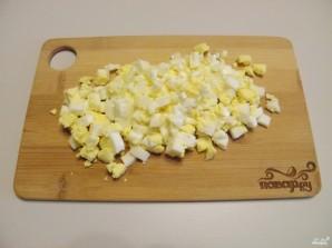 Салат в тарталетках для детей - фото шаг 4