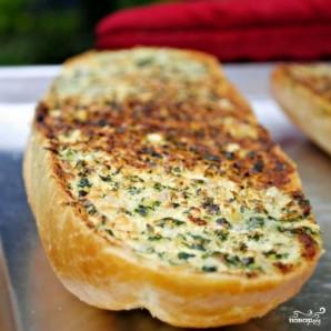 Чесночно-сырные гренки - фото шаг 10