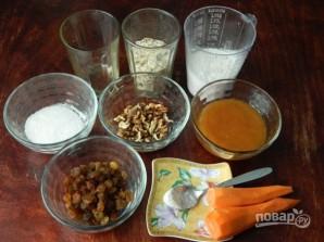 Морковное печенье с овсяными хлопьями - фото шаг 1