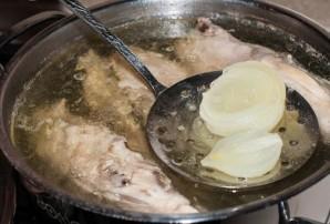 Диетический куриный суп - фото шаг 3