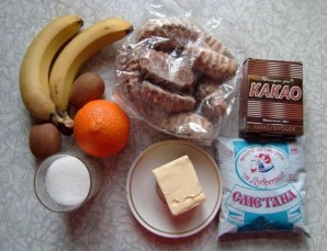 Пряничный торт без выпечки - фото шаг 1