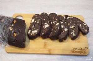 Шоколадная колбаса - фото шаг 10