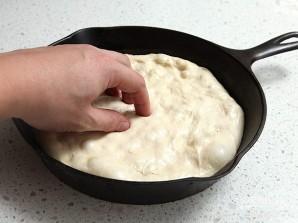 Тесто для пиццы без замеса - фото шаг 4