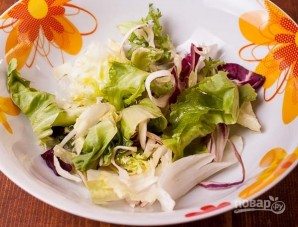 Салат с макаронами и йогуртом - фото шаг 2