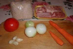 Свиные ребрышки с рисом - фото шаг 1
