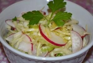 Салат к картошке с мясом - фото шаг 6