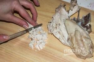 Салат слоеный с курицей - фото шаг 1
